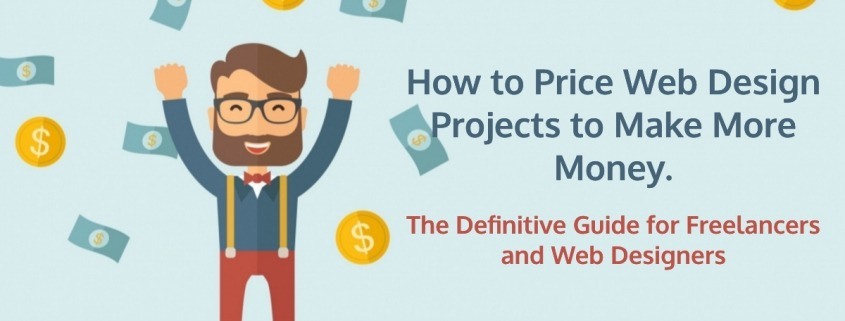 how to price a web design project